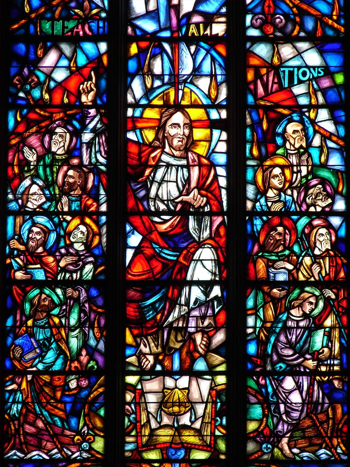 Stained Glass Windows : Stained glass windows first presbyterian church of