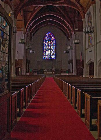 sanctuary aisle