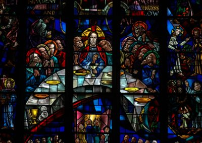 window last supper